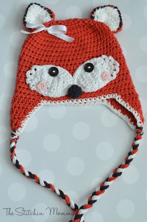 FREE Pattern – Fox Hat. Animal Hat Crochet ... 72261514303