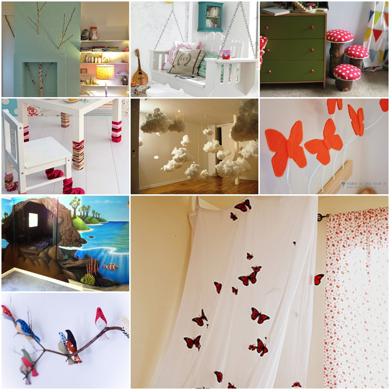 20 cool diy ideas to turn your kids bedroom into fairytale - Bedroom decorations diy ...