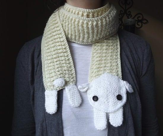 ˜DIY Crochet Fashion Sheep Scarf