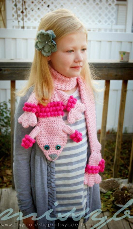 ˜DIY Crochet Fashion Lilleth the Poodle Scarf