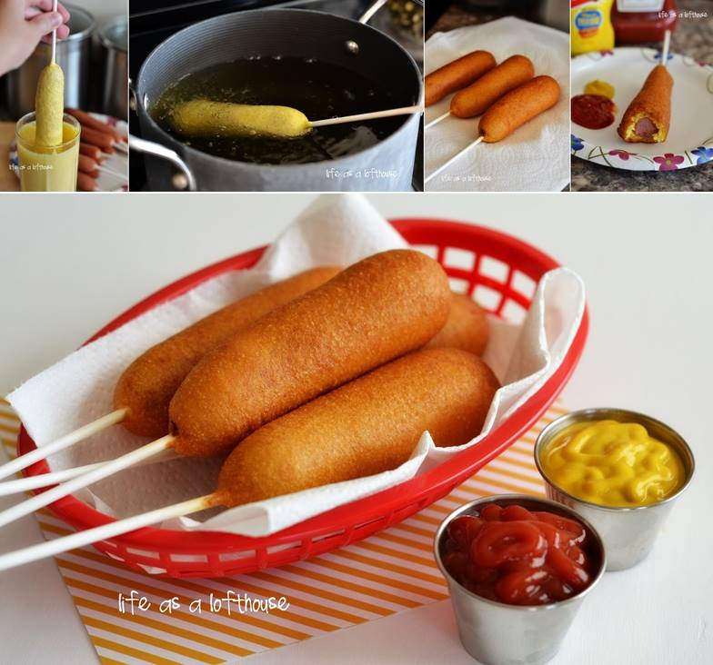 DIY Corn Dog at Home