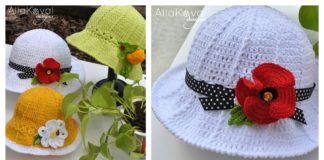DIY Crochet Cute Hats with Free Pattern