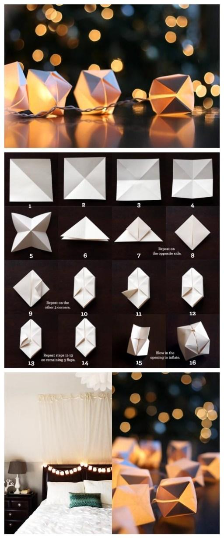 DIY: origami cube   Trabalhos manuais, Arte em papel, Faça você mesmo   1228x512