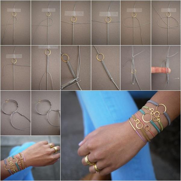 DIY Stylish Macrame Bracelet