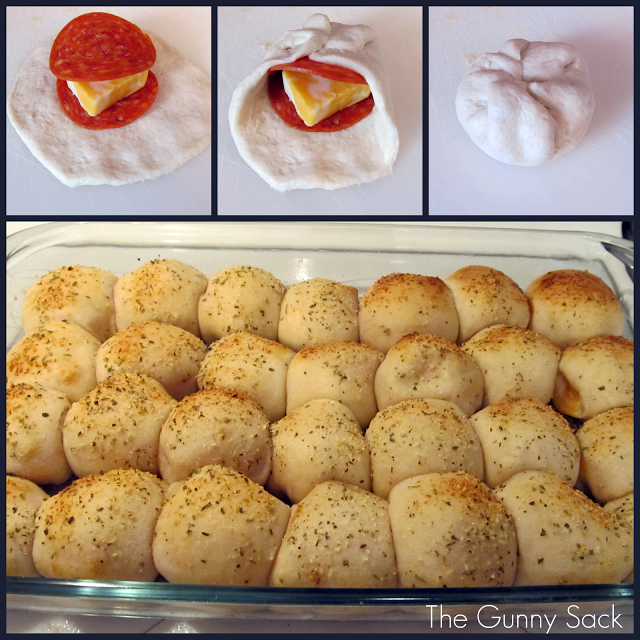 Easy Pepperoni Rolls  Wonderful DIY Yummy Pepperoni Pizza Balls