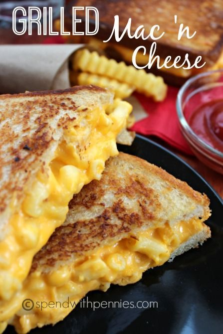 Grilled Mac And Cheese Sandwich Recipe Spend With Pennies ...