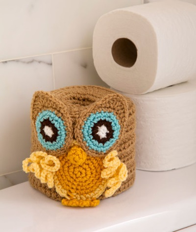 Owl Toilet Roll Cover
