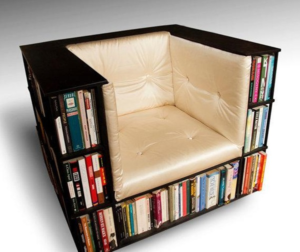 book shelf chair