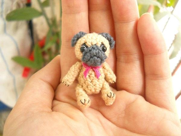 Crochet Delicate Miniature Animals from Su Ami