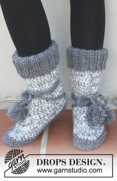 Diy 8 Knitted Amp Crochet Slipper Boots Free Patterns