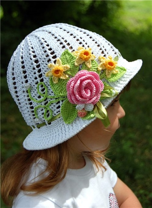 Diy Crochet Pretty Panama Hat For Girls Page 2 Of 3