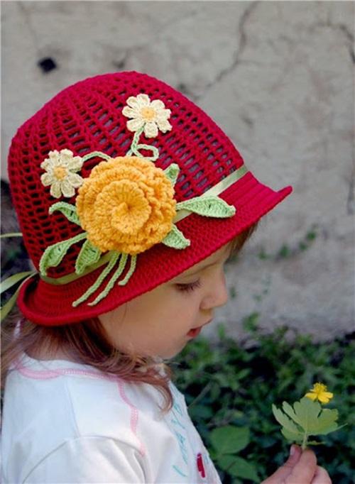 Free Crochet Pattern For A Panama Hat : DIY Crochet Pretty Panama Hat for Girls - Cool Creativities