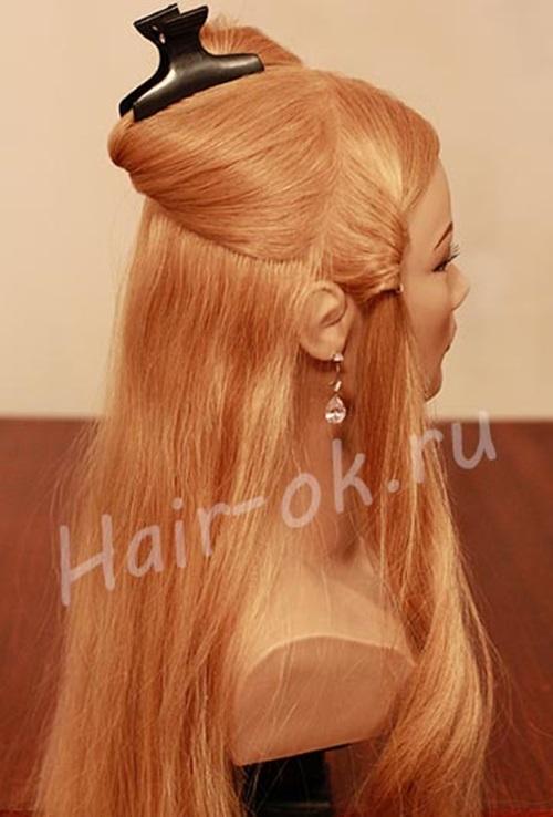 diy-elegant-braided-curls-hairstyle-1