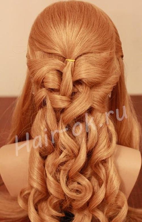 diy-elegant-braided-curls-hairstyle-4