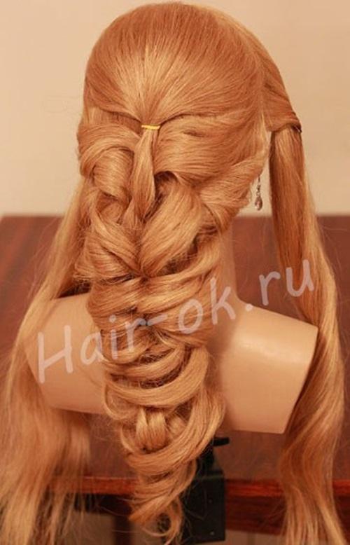 diy-elegant-braided-curls-hairstyle-5