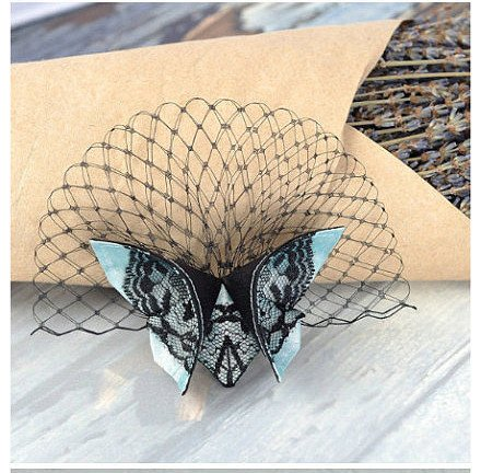 DIY Fabric Origami Butterfly