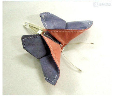 Fabric Origami Butterfly DIY Fabric Origami But...