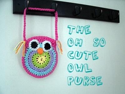 owl purse pattern