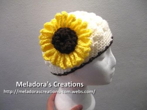 DIY Crochet Sunflower Pattern