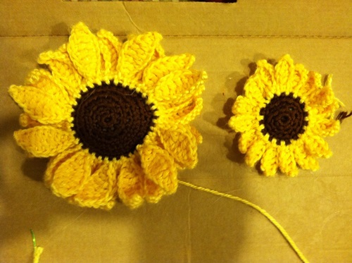 12 Diy Crochet Sunflower Pattern