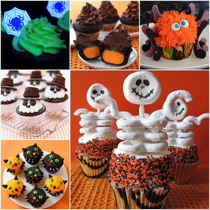 6 Diy Halloween Cupcake Ideas Cool Creativities