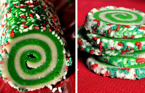 Colorful Swirl Cookies