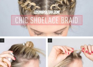 Shoelace Braid Hairstyle
