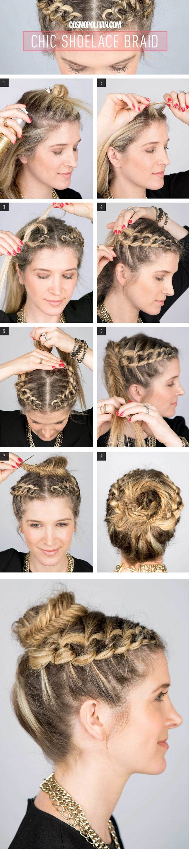Cute-Shoelace-Braid-DIY-Hairstyle