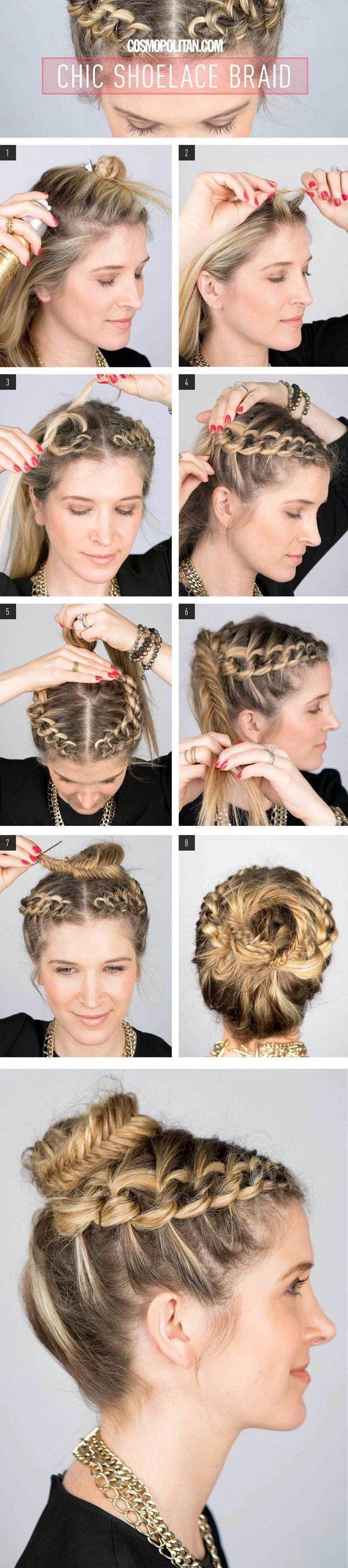 Cute-Shoelace-Braid-DIY-Hairstyle