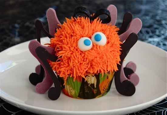 Spooky Spider Cupcakes-1