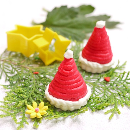 Christmas Cookies Santa Hats Cookies Cool Creativities