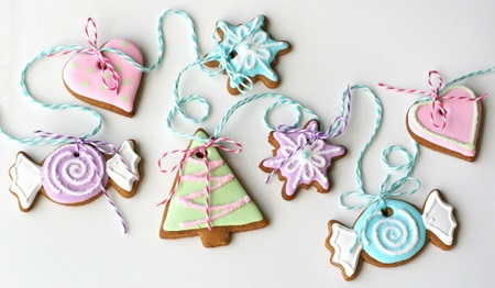 Christmas Garland Cookies