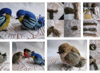 DIY Cute Yarn Birdies You Can Make in Minutes