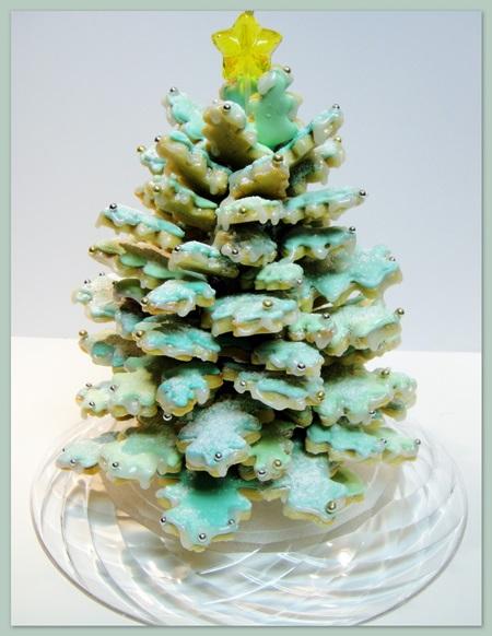 Key Lime Cookie Christmas tree