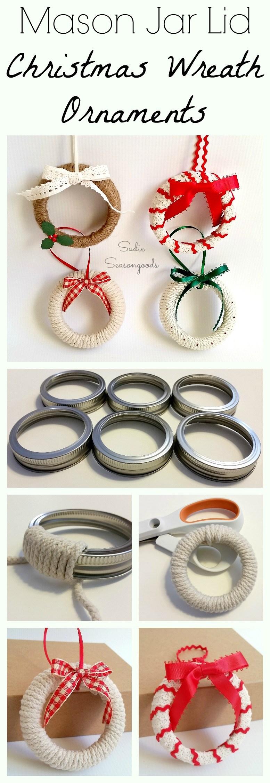 50+ Creative DIY Christmas Ornament Ideas and Tutorial ...