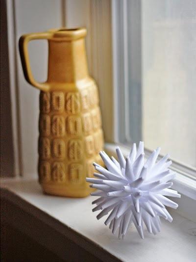 Modern Paper Ornament