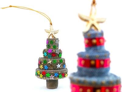 denim Ornament