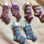 Christmas Stocking Lip Balm Cozy Free Crochet Pattern