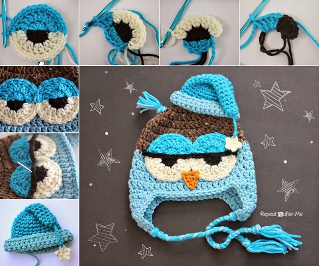Cool Crochet Patterns : Cool Creativity - DIY Crocheted Owls with Free Patterns