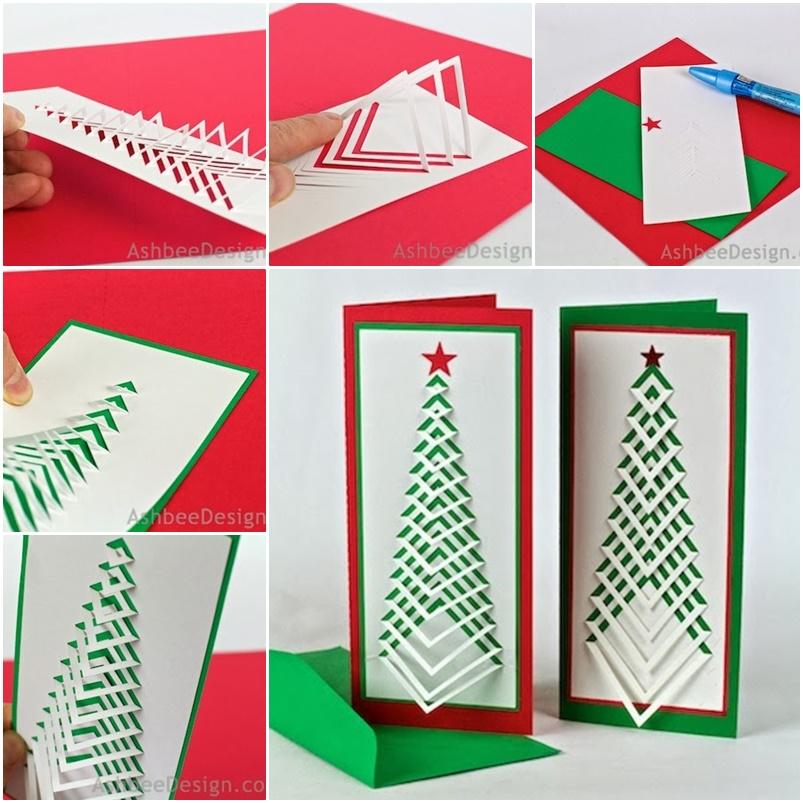 Cool Christmas Cards.Diy Christmas Card