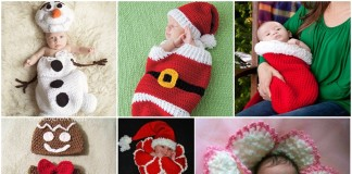 Christmas Crochet Cocoon Patterns