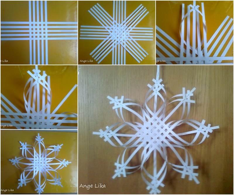DIY Amazing Paper Snowflakes
