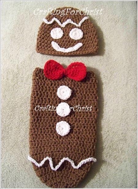 Gingerbread Man Cocoon