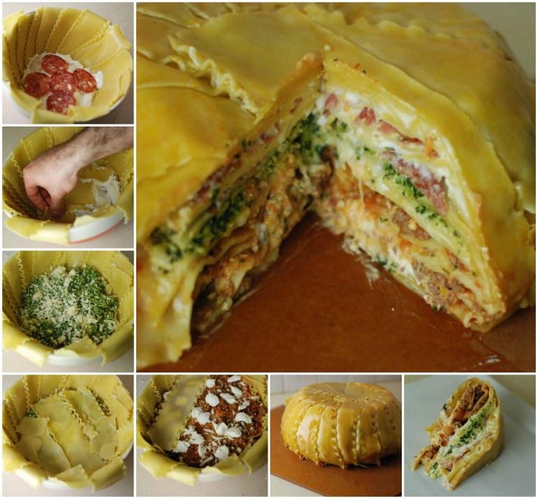Lasagna Timpano