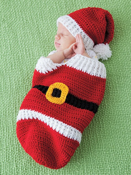 Cute Christmas Crochet Cocoon Patterns