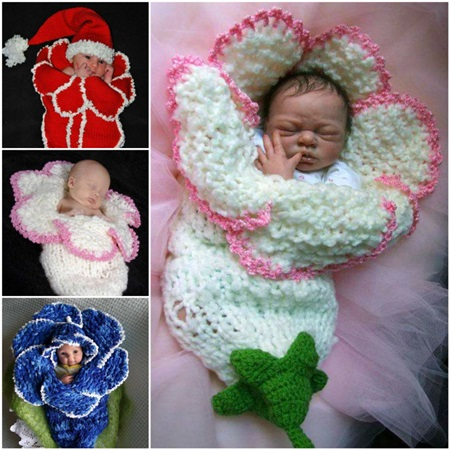 Cute Christmas Crochet Cocoon Patterns