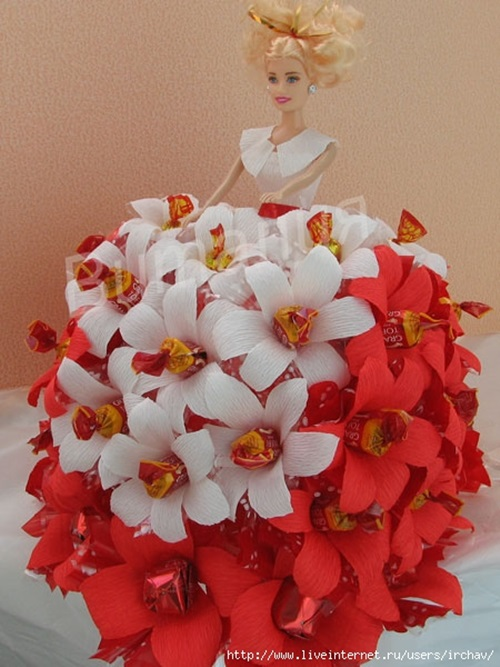 Barbie Chocolate Bouquet You Can Make for Next Birthday ...