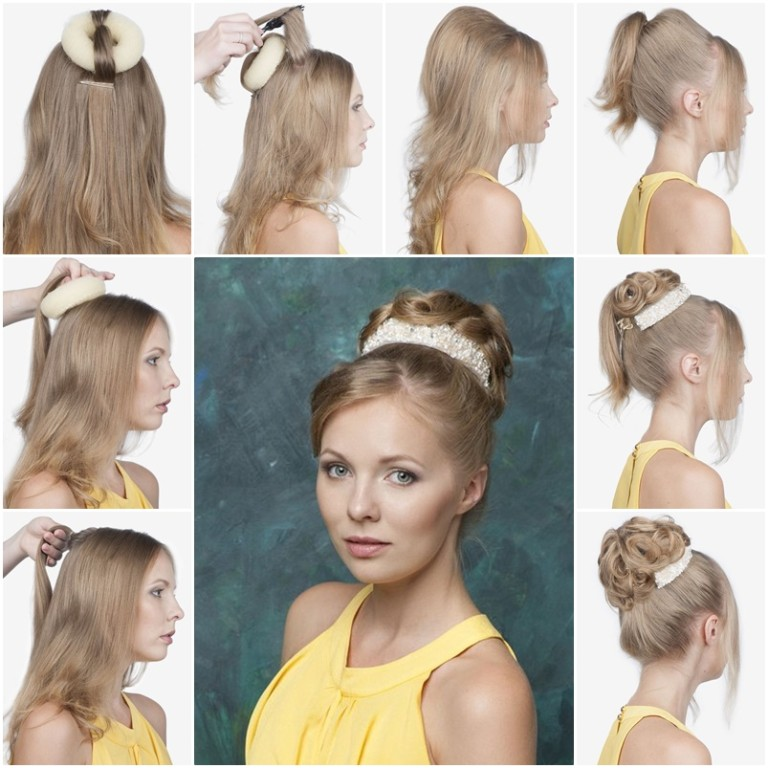 Hairstyle in the style of the 60s Babette