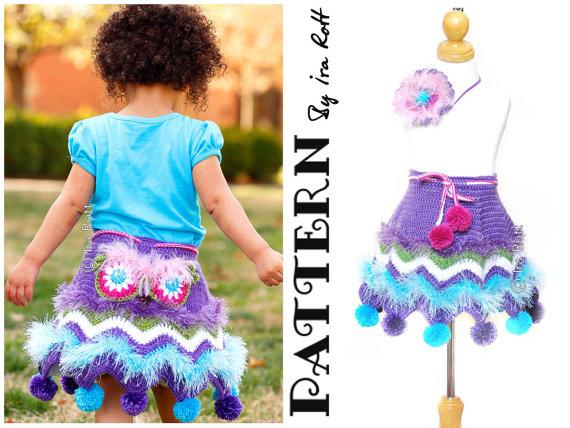 Owl Skirt Crochet Pattern