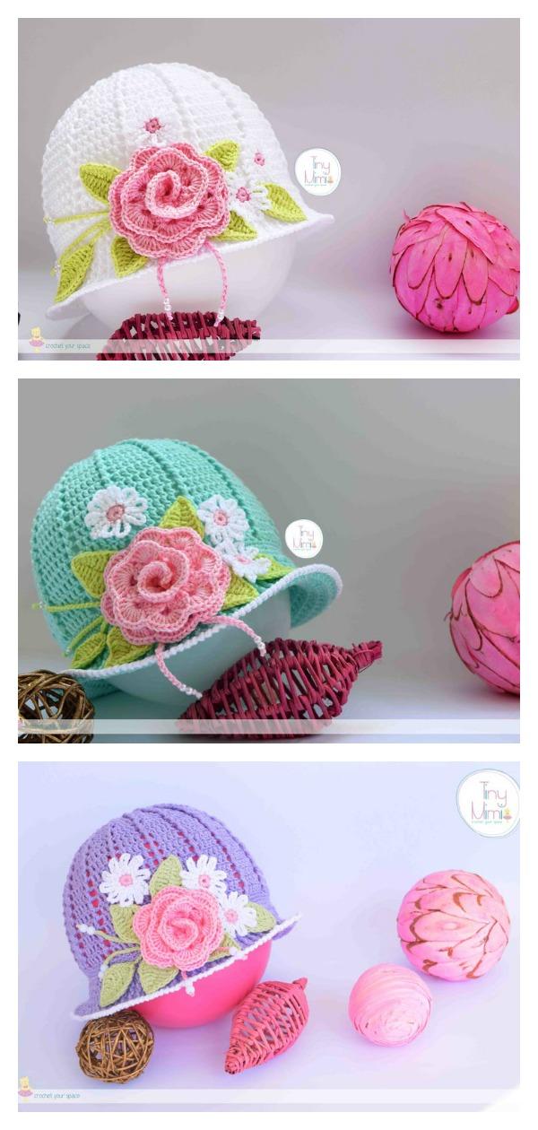 Crochet Pretty Summer Panama Hat